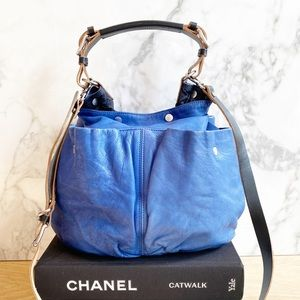 Marni Cobalt Blue Leather bag